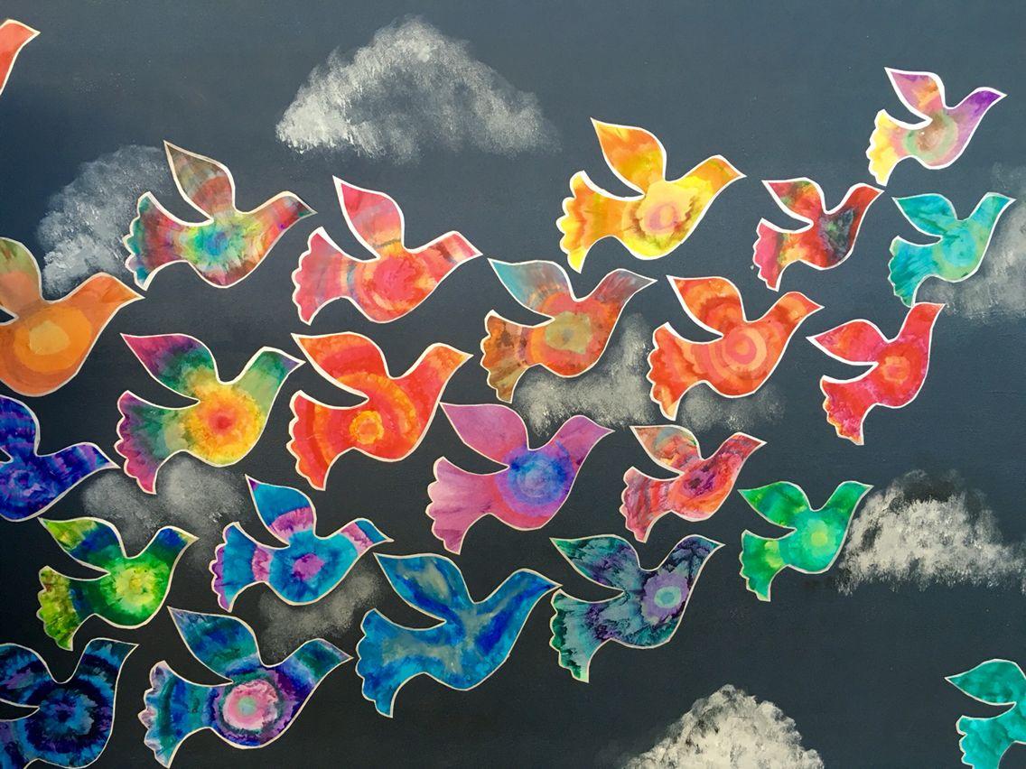 Harmony Day Collaborative Doves