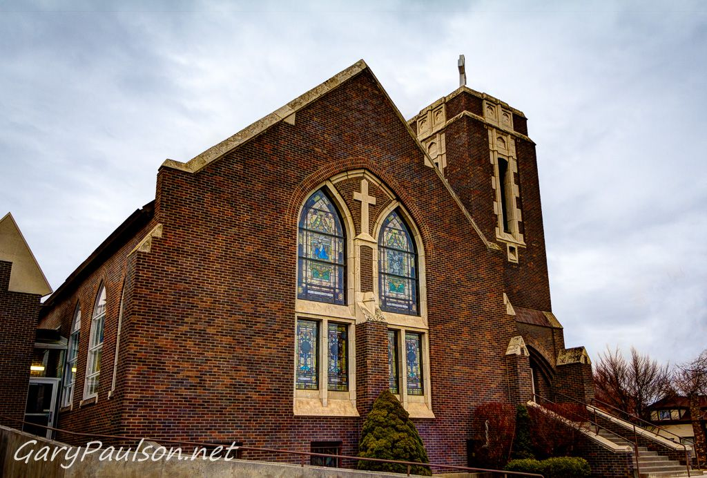 Kennewick First United Methodist Church. This gorgeous old church in downtown Kennewick is where my oldest daughter got married a dozen years ago.  I took this picture ba...
