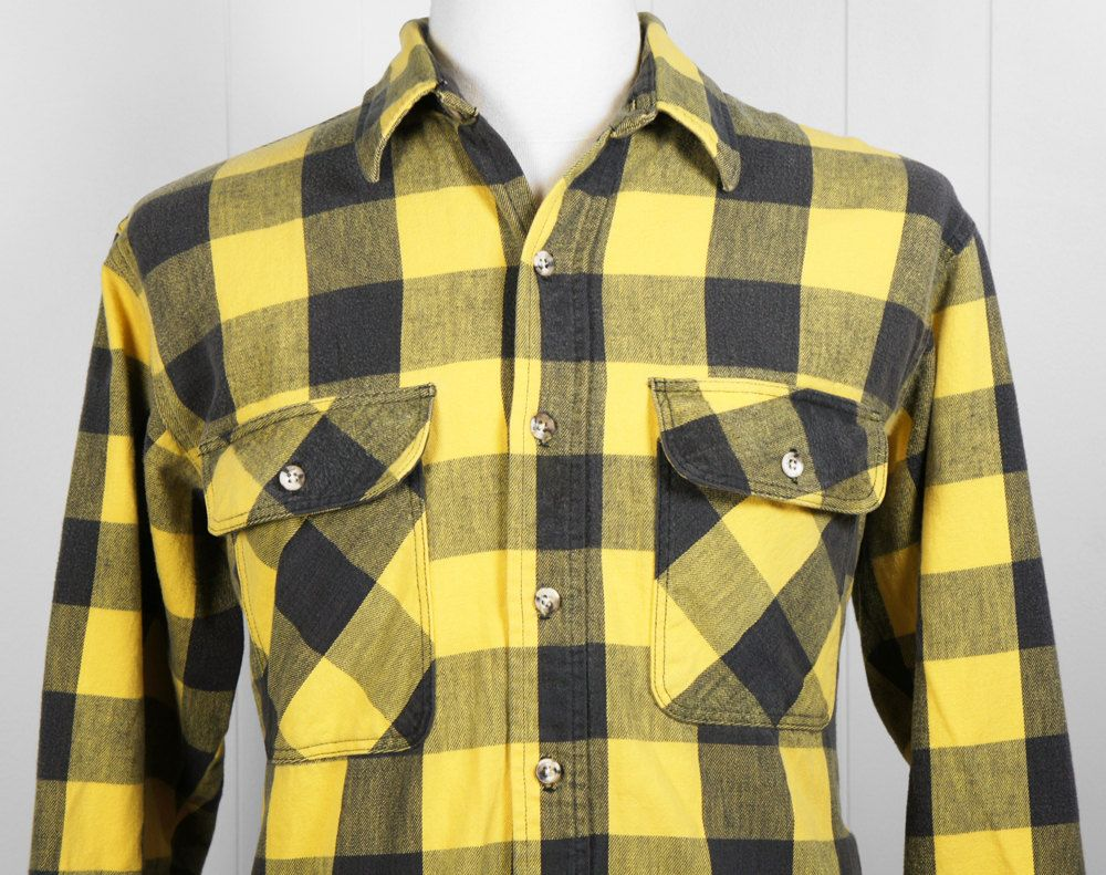 yellow black plaid shirt | Like this item? | Style: | Pinterest ...