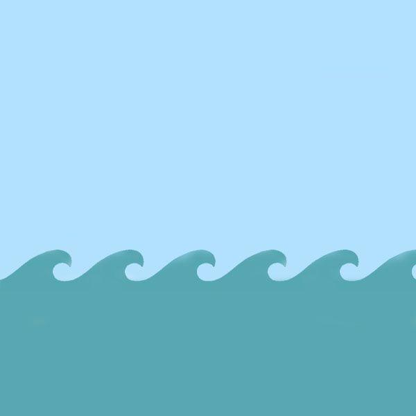 Wave / Sea pattern stencil Guestroom Pinterest Stencils, Wave
