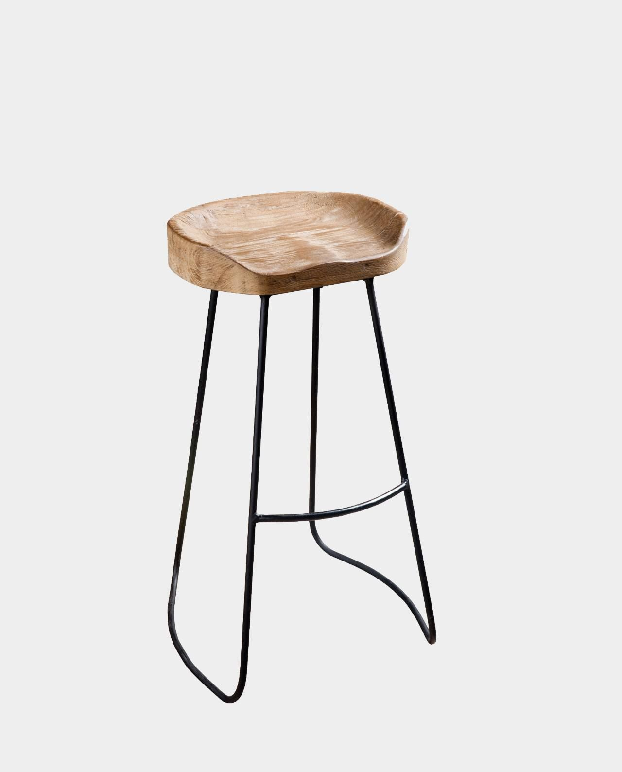 Bar stool with his own hands 28