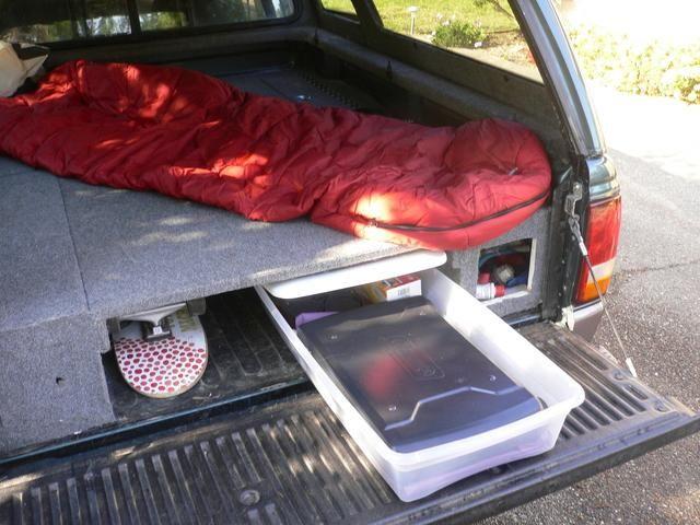 Ford Ranger Sleeping Platform Ford Ranger Truck Bed Camper Truck Camper