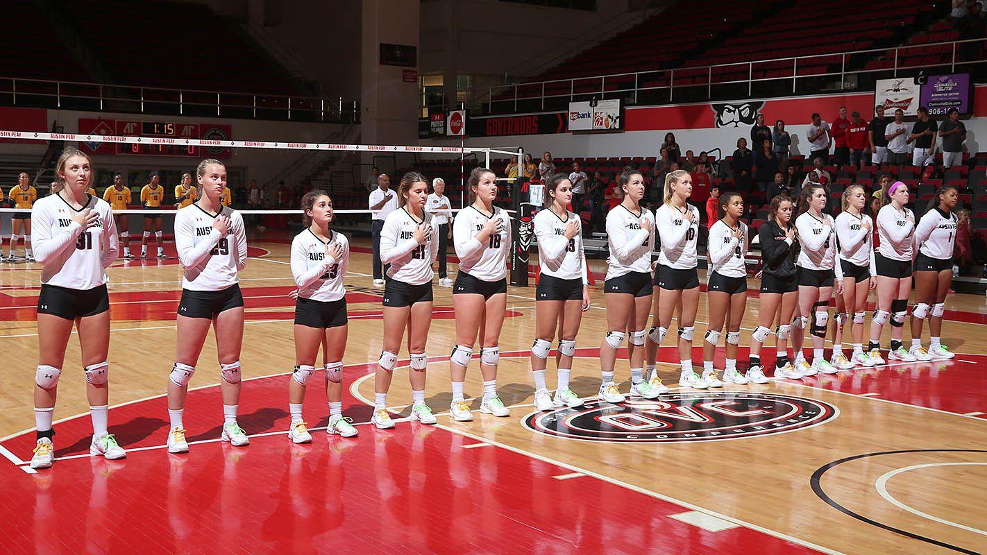 Apsu Volleyball Hosts Ut Martin Southeast Missouri This Weekend Clarksville Tn Online Volleyball Missouri Austin Peay State University