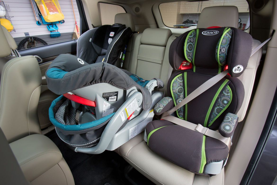 Which Cars Fit Three Car Seats? Car seats, Baby car