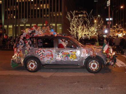 Christmas Car Decoration Shared By Cardecor