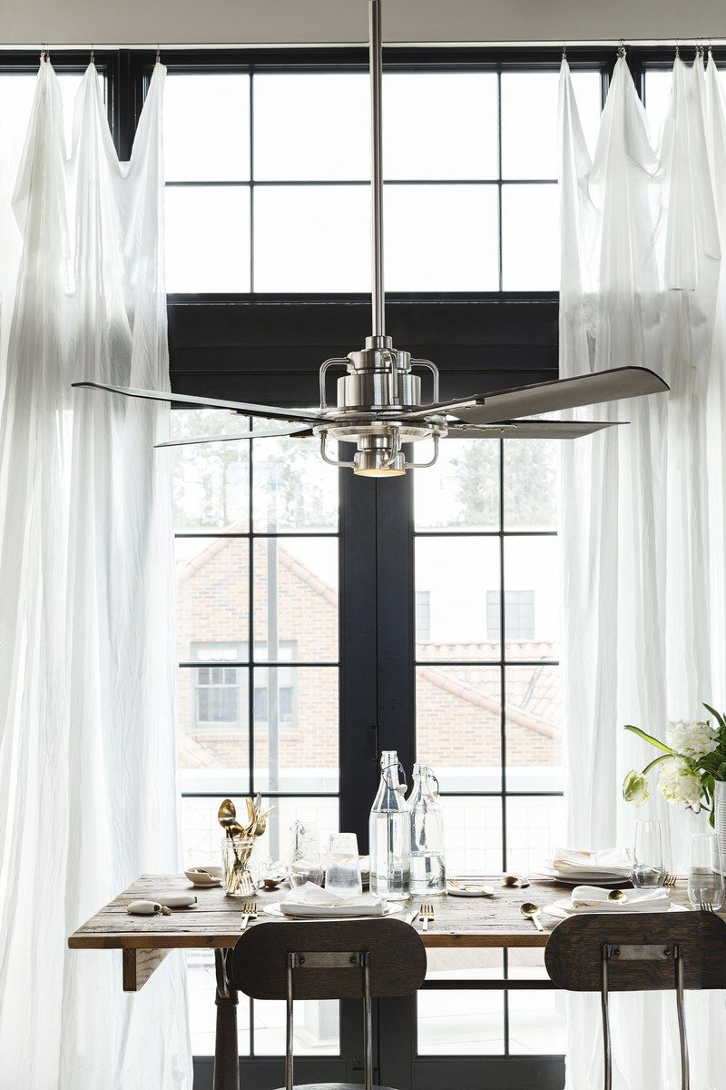11 Modern Fans To Cool You Off Quickly Dining Room Ceiling Fan