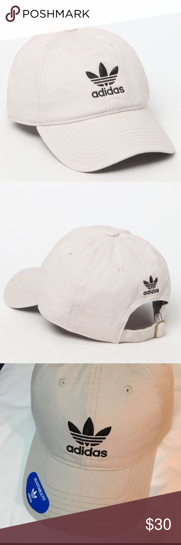 49959ada0b0 NWT Adidas Trefoil Firebird Khaki Cap Hat Brand new with tags! One size  fits all