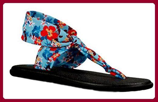 Sanuk Flip Flops/Zehentrenner Yoga Sling Ella Prints (40) G7tv6SxSN