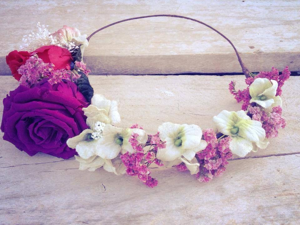 como hacer coronas de flores buscar con google - Como Hacer Diademas De Flores