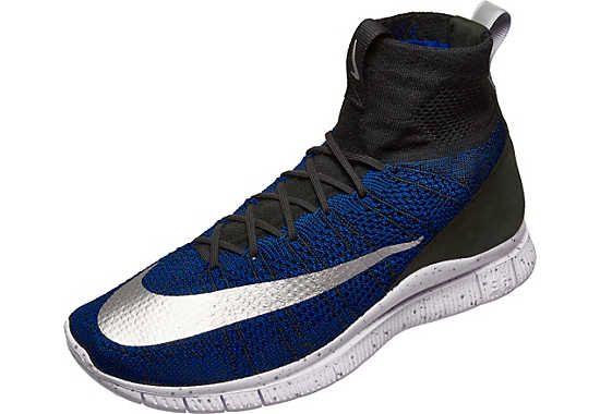 sale retailer 7d5ea 3163e Nike CR7 Free Flyknit Mercurial FC - Blue   Black   SoccerMaster.com