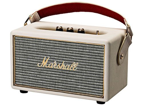 Marshall Kilburn Portable Wireless Bluetooth Active Stereo Vintage Style Speaker