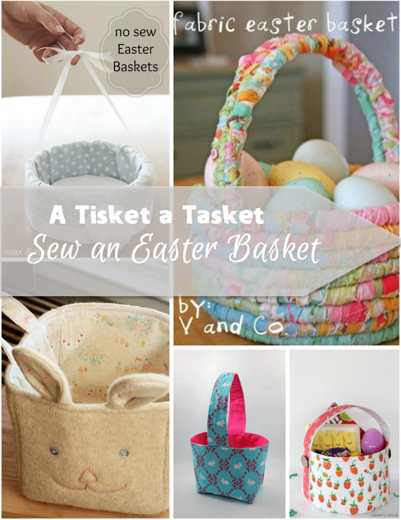 The great thing about sewing a fabric easter basket is that they are the great thing about sewing a fabric easter basket is that they are fun and personal negle