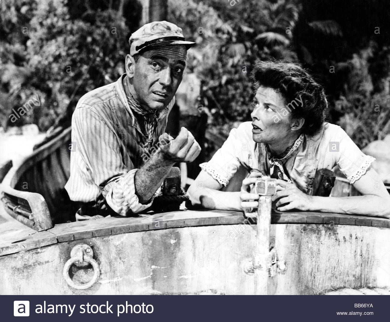 Movie the african queen usa 1951 director john huston scene stock photo royalty free image 24108766 alamy