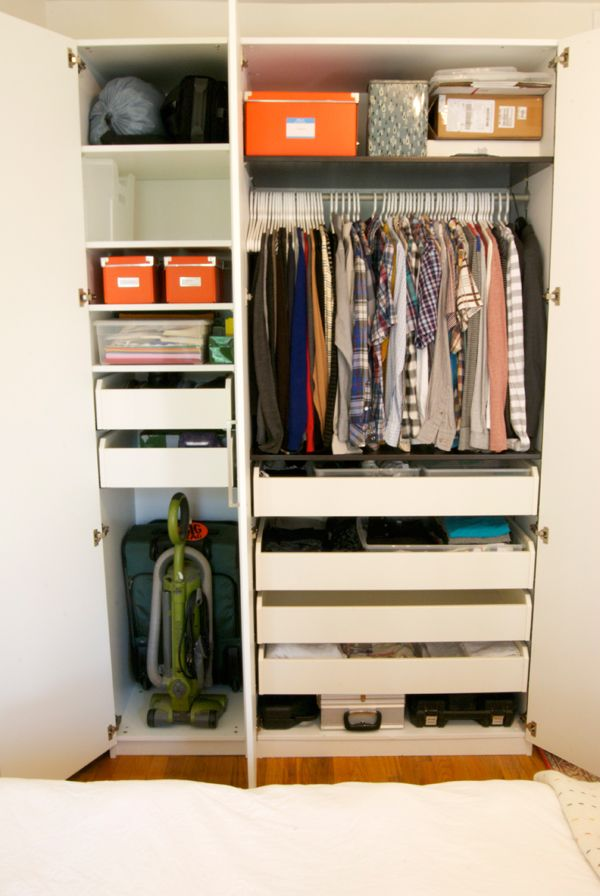 Organization Manhattan Nest Ikea Pax Ikea Wardrobe Bedroom