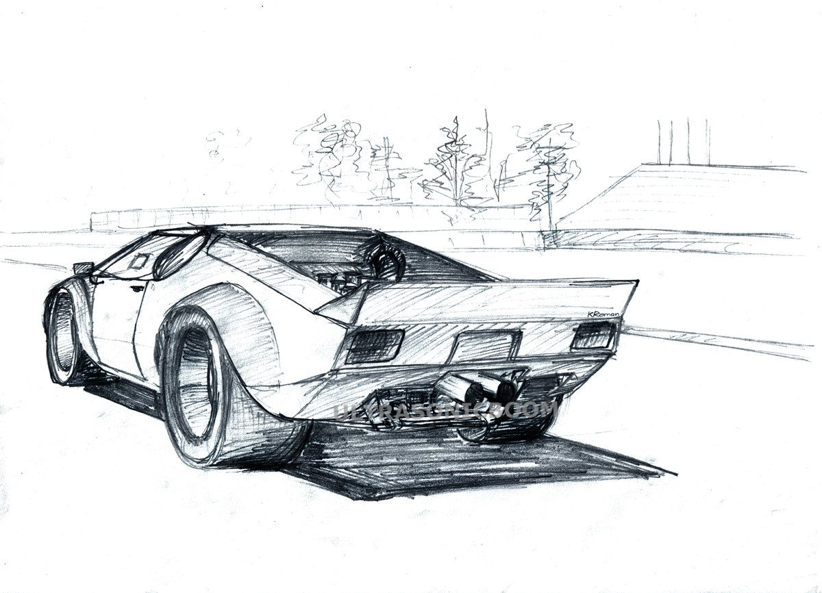 Race Car Drawings Car Racing Drawing With Images Classic