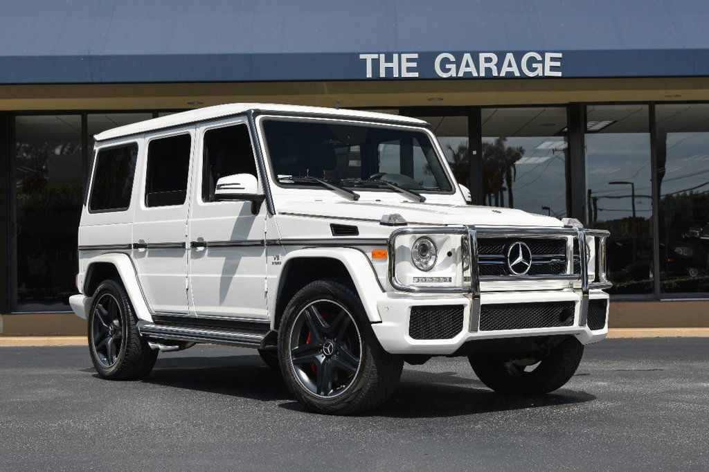 Cool Great 2016 Mercedes Benz G Class 4matic 4dr Amg G 63 16