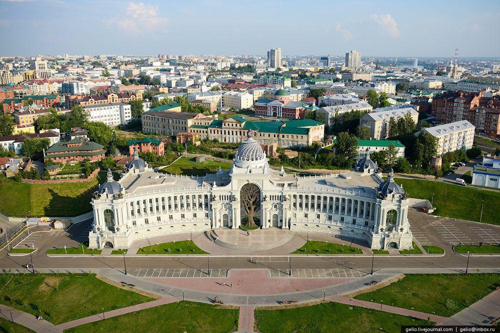 Самые красивые дома и достопримечательности Казани
