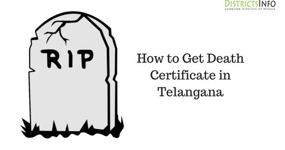 How to Get Death Certificate in Telangana, GHMC Death Certificate ...