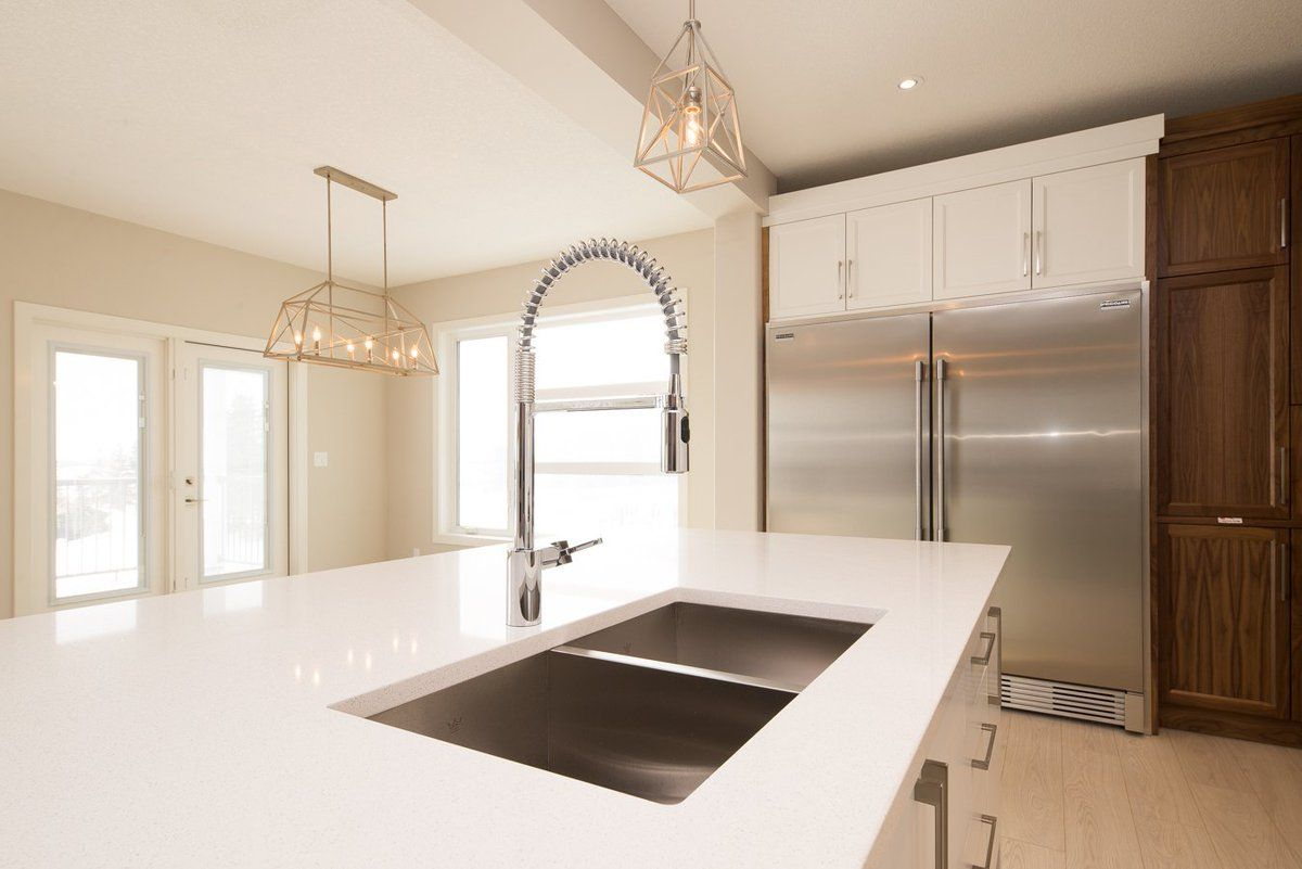 Ice Snow Quartz We Installed This Kitchen Earlier This Year And