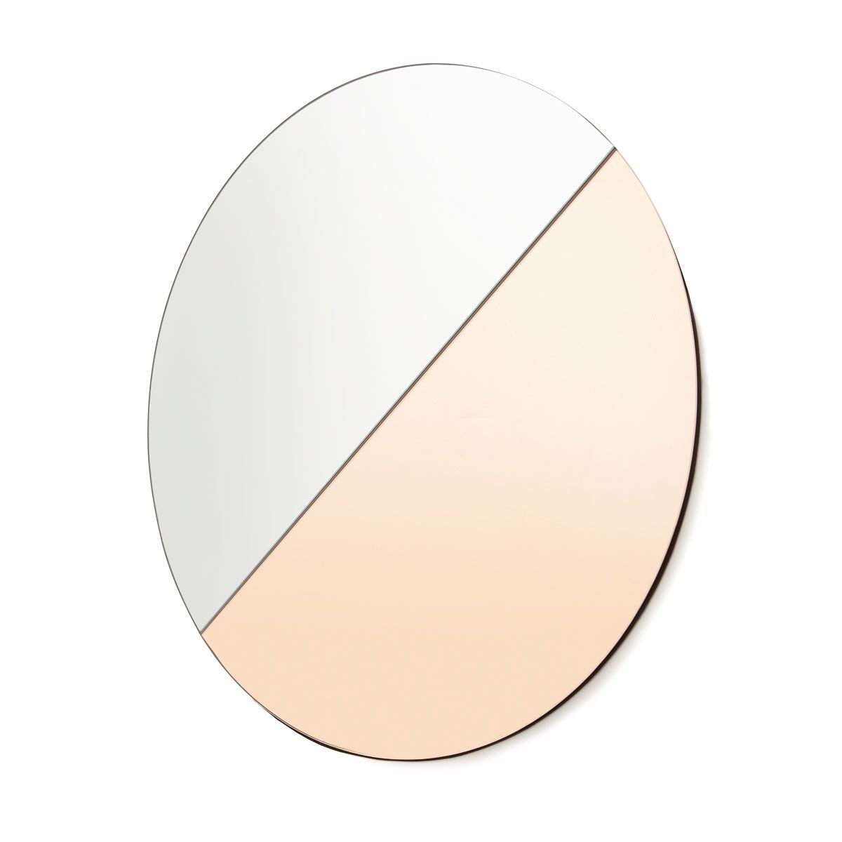 Bathroom Mirrors Kmart two tone tinted mirror - rose gold & clear | kmartnz | decor