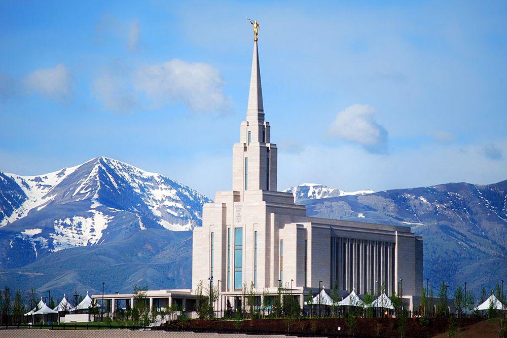 Oquirrh Mountain Utah Temple | Prints/Patterns | Mormon