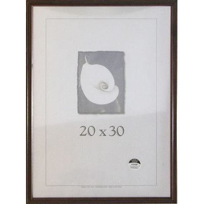 "Frame USA Classic Picture Frame Finish: Wanut, Size: 20"" x 30"""