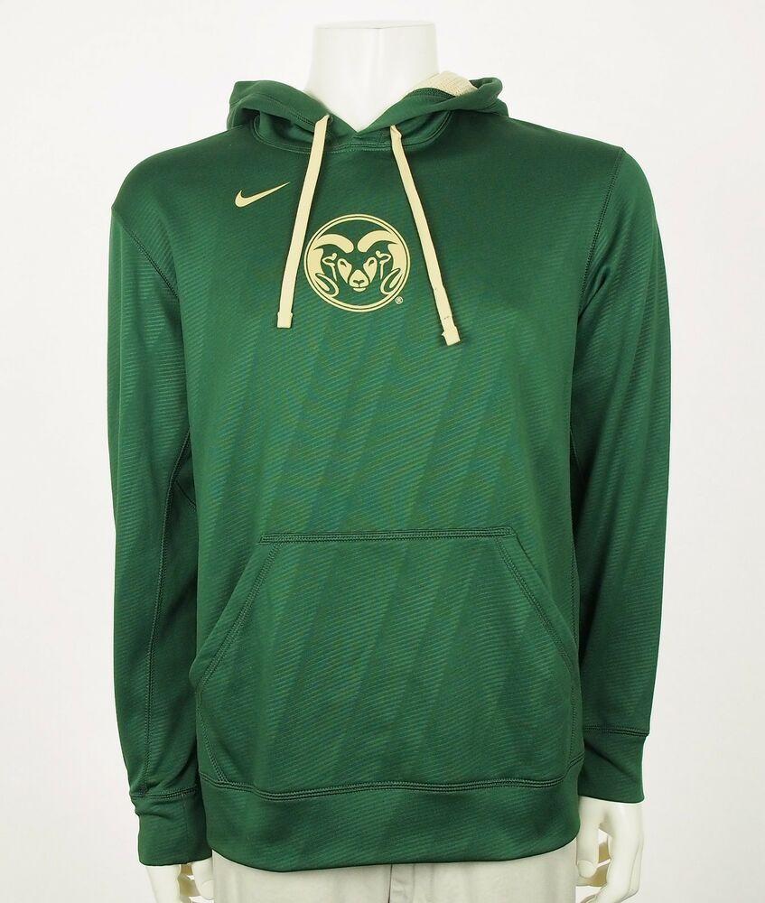 Nike Team Colorado State Rams Green Sweatshirt Hoodie Sz Medium Fashion Clothing Shoes Accessories Mensclo Sweatshirts Hoodie Active Wear Team Sweatshirts [ 1000 x 847 Pixel ]