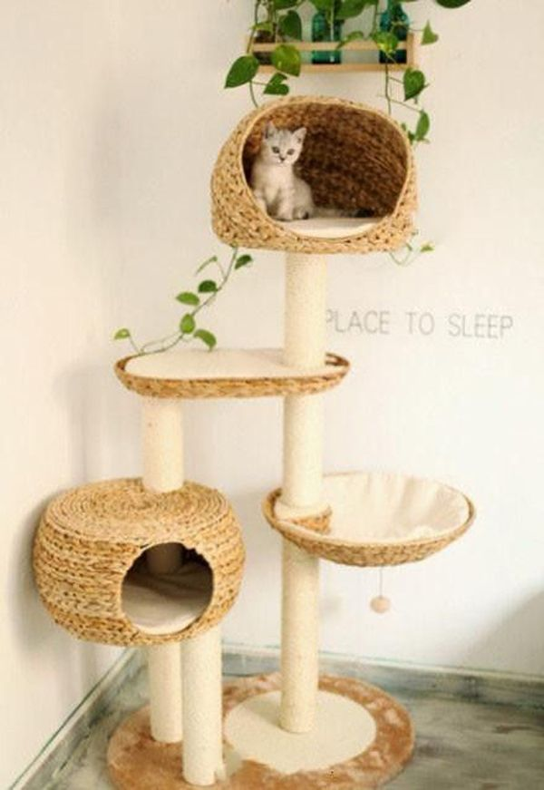 25 Indoor Cat Tree Ideas For Play And Relax Cat Tree Cool Cat Toys Diy Cat Tree