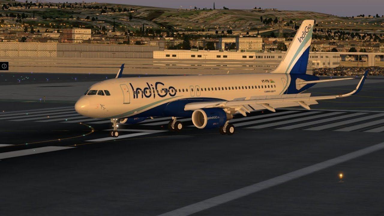 JAR Design A320 Neo Indigo airlines (X-Plane 10) | X-plane