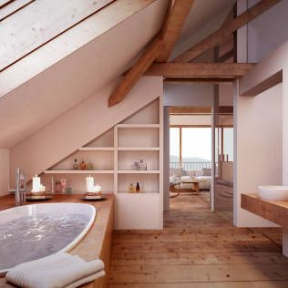 Badezimmer Ideen, Design Und Bilder | Van Ideen Badezimmergestaltung