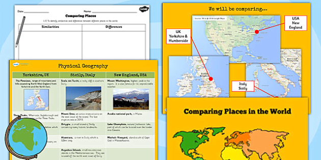 Ks2 geography comparing places lesson teaching pack compare ks2 geography comparing places lesson teaching pack compare gumiabroncs Choice Image