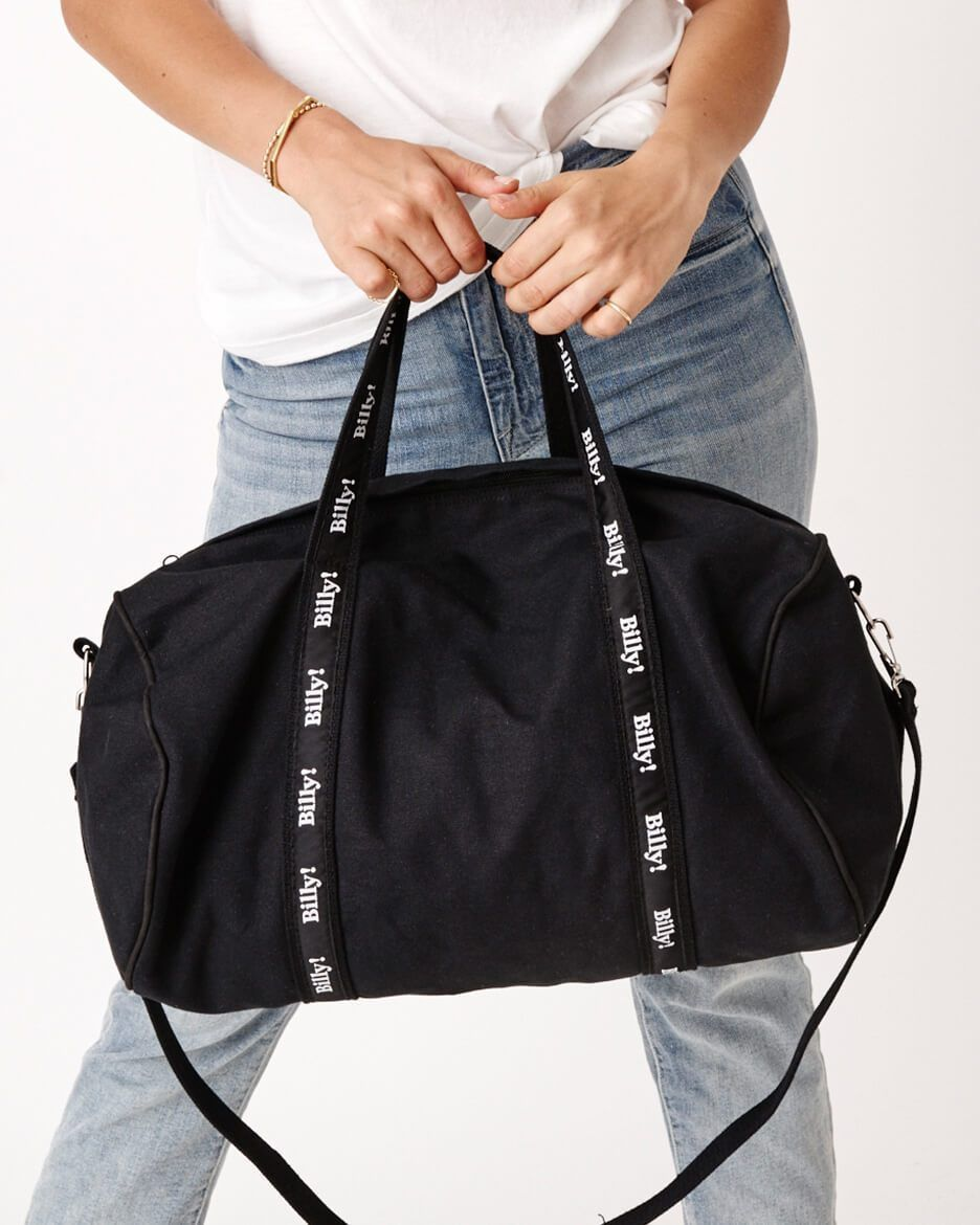 Billy Black Banker S Bag Duffel Weekend Canvas