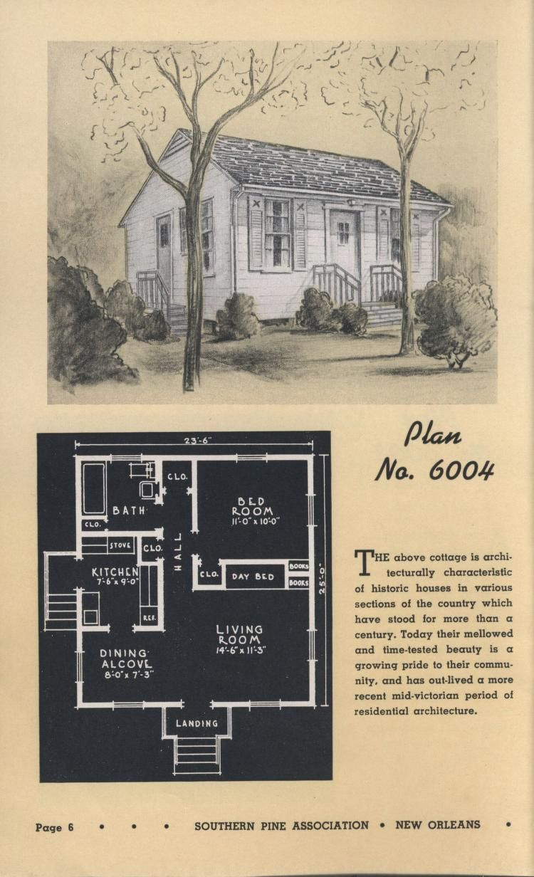 Low Cost Homes And Summer Cottages By Southern Pine Assoc.Published 1938