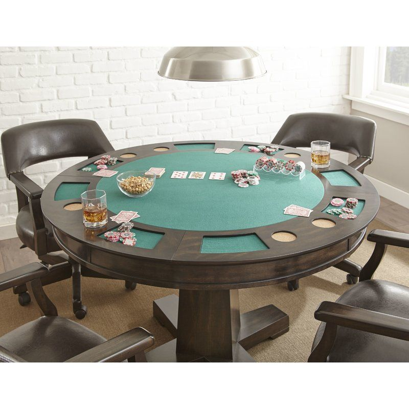 Malcolm 52 8 Player Poker Table With Chairs Poker Table Table Morris Homes