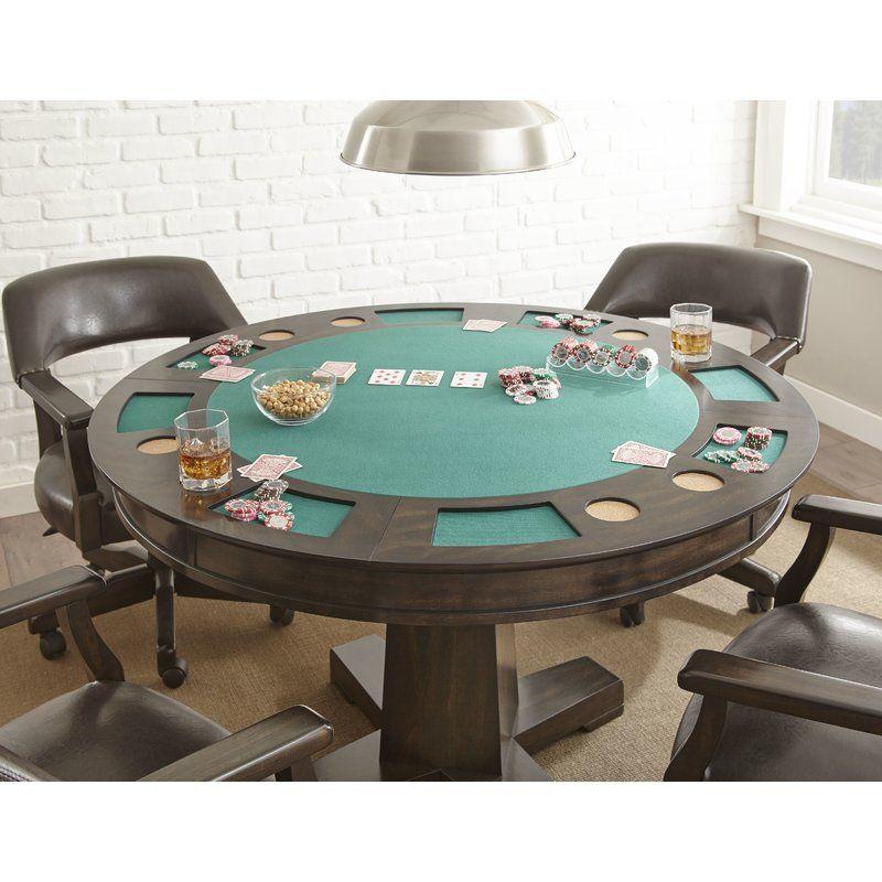 52 Malcolm Dining Game Poker Table Set Poker Table Table Poker