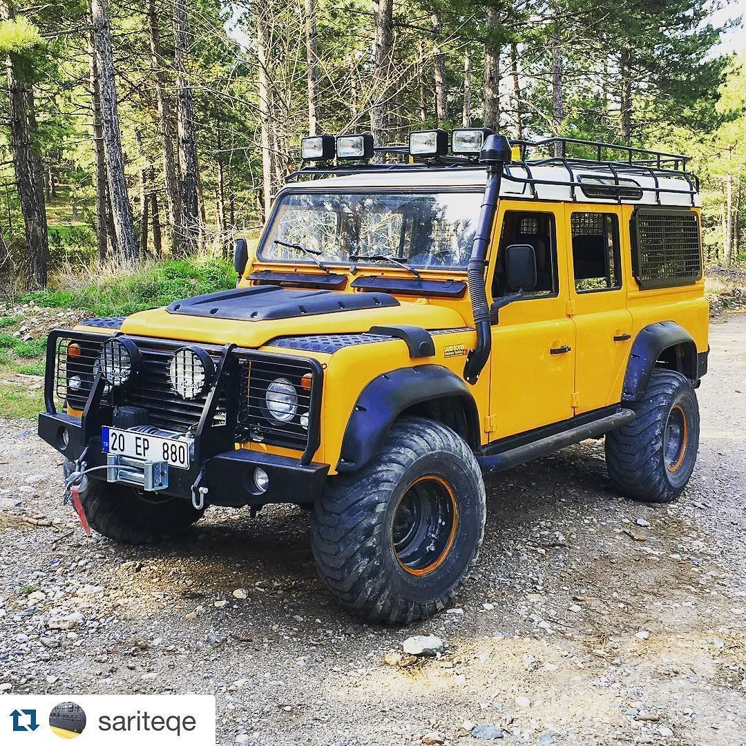 land rover defender 110 td4 yellow adventure land. Black Bedroom Furniture Sets. Home Design Ideas