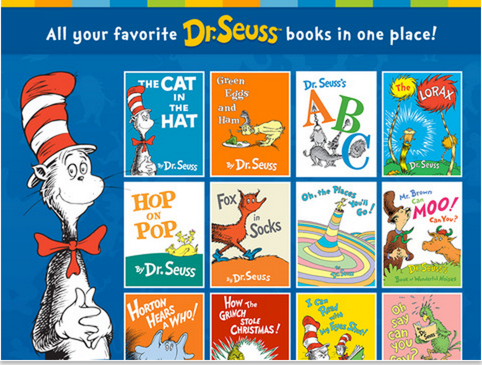 A Collection Of The Best Interactive Digital Storybooks By Dr Seuss