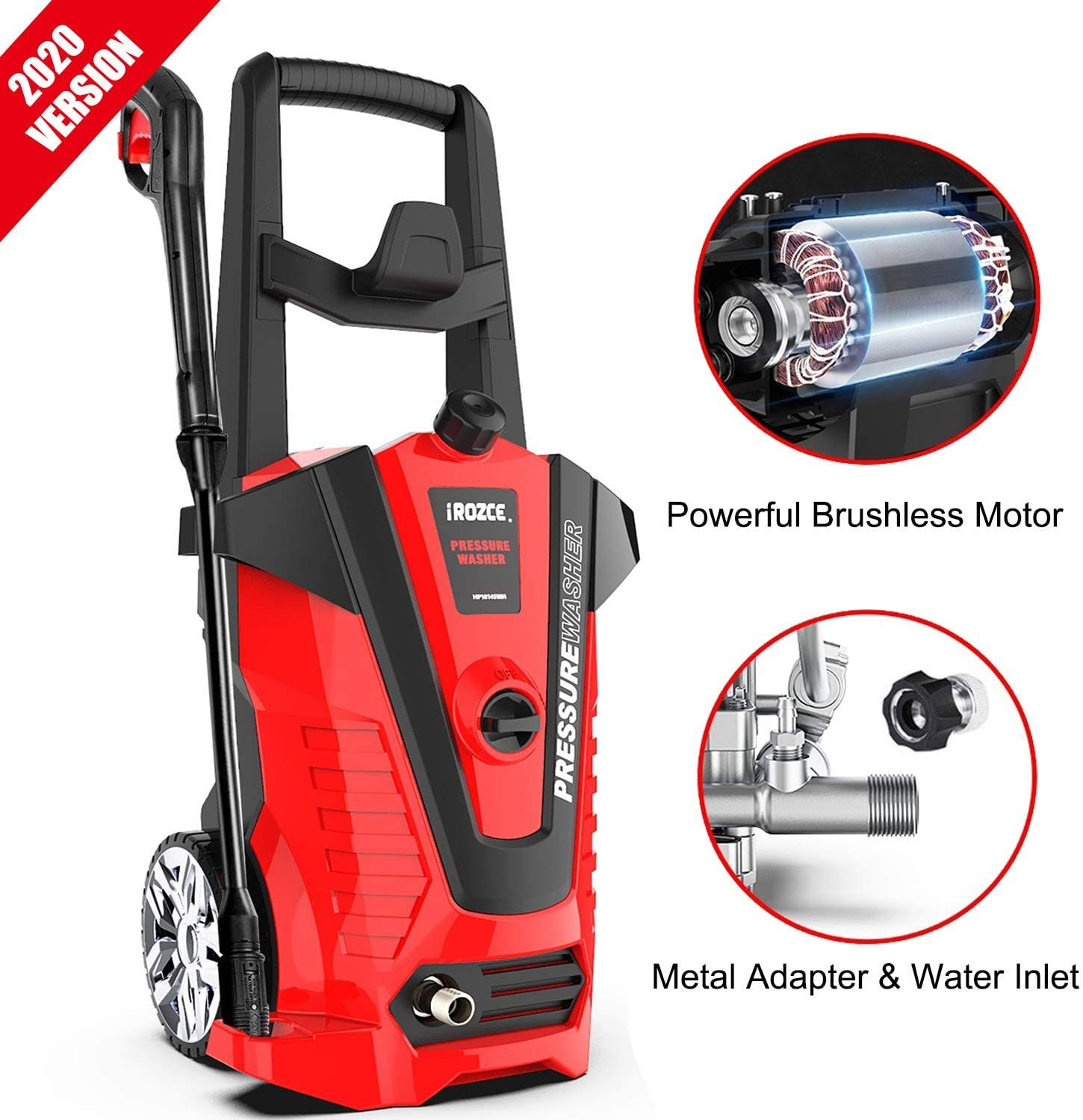 Floor Cleaner Used With A Power Washer