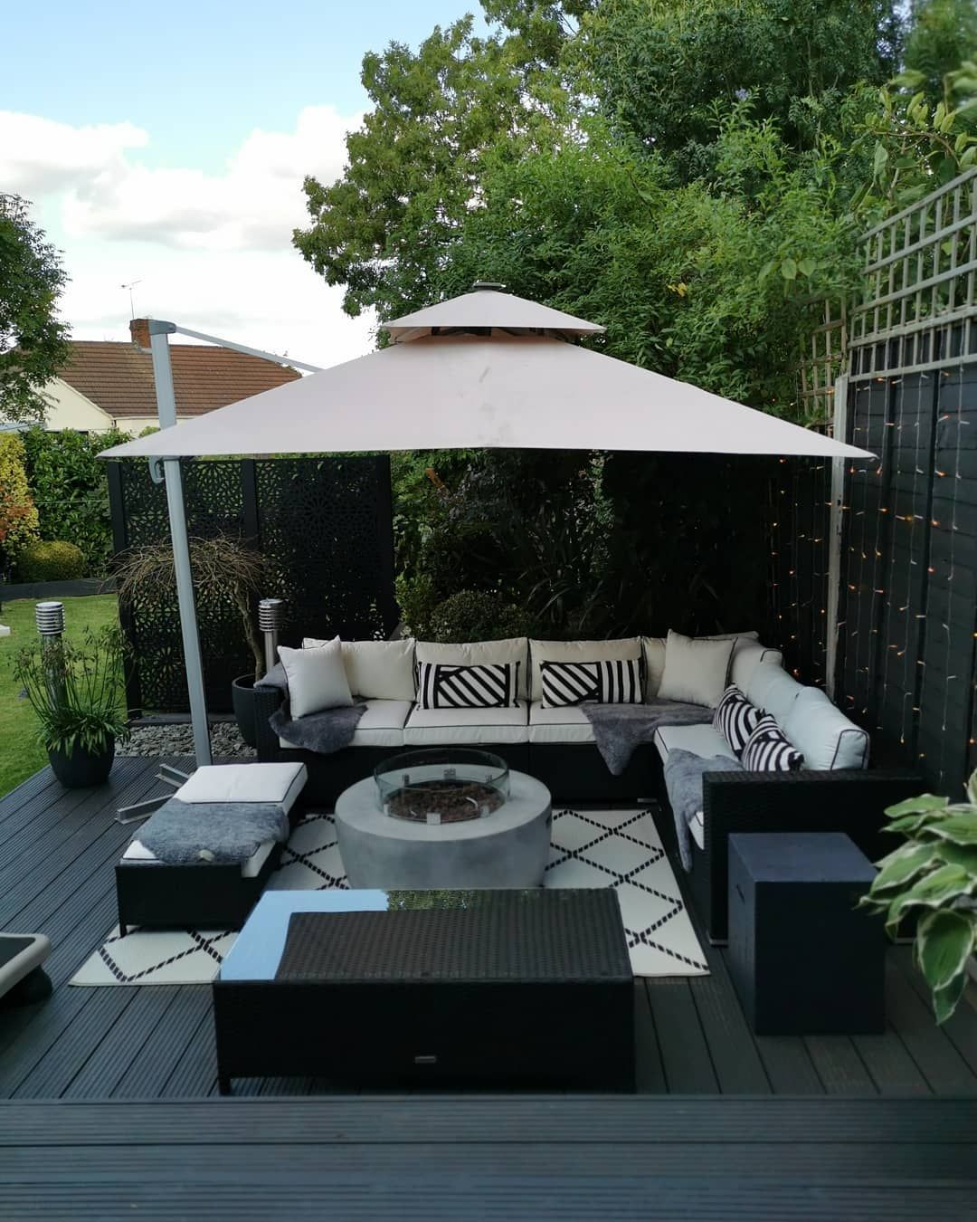 No Place Like Home On Instagram One More Garden Post Before We Creep Into October And Leave Summer Rattan Garden Corner Sofa Corner Sofa Set Garden Cushions