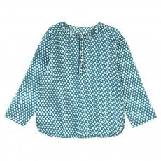 isabel marant haeza blouse blue shirt