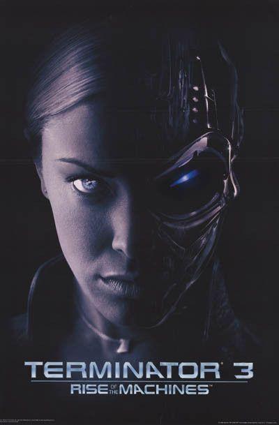 Terminator 3 Movie Poster 23x35 Posteres De Filmes Cartaz De