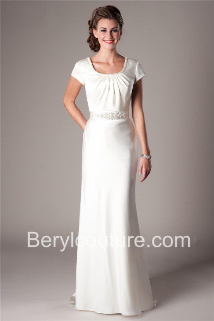 Modest Sheath Wedding Gowns Available At Latterdaybride And Bridal Dress In Salt Lake City