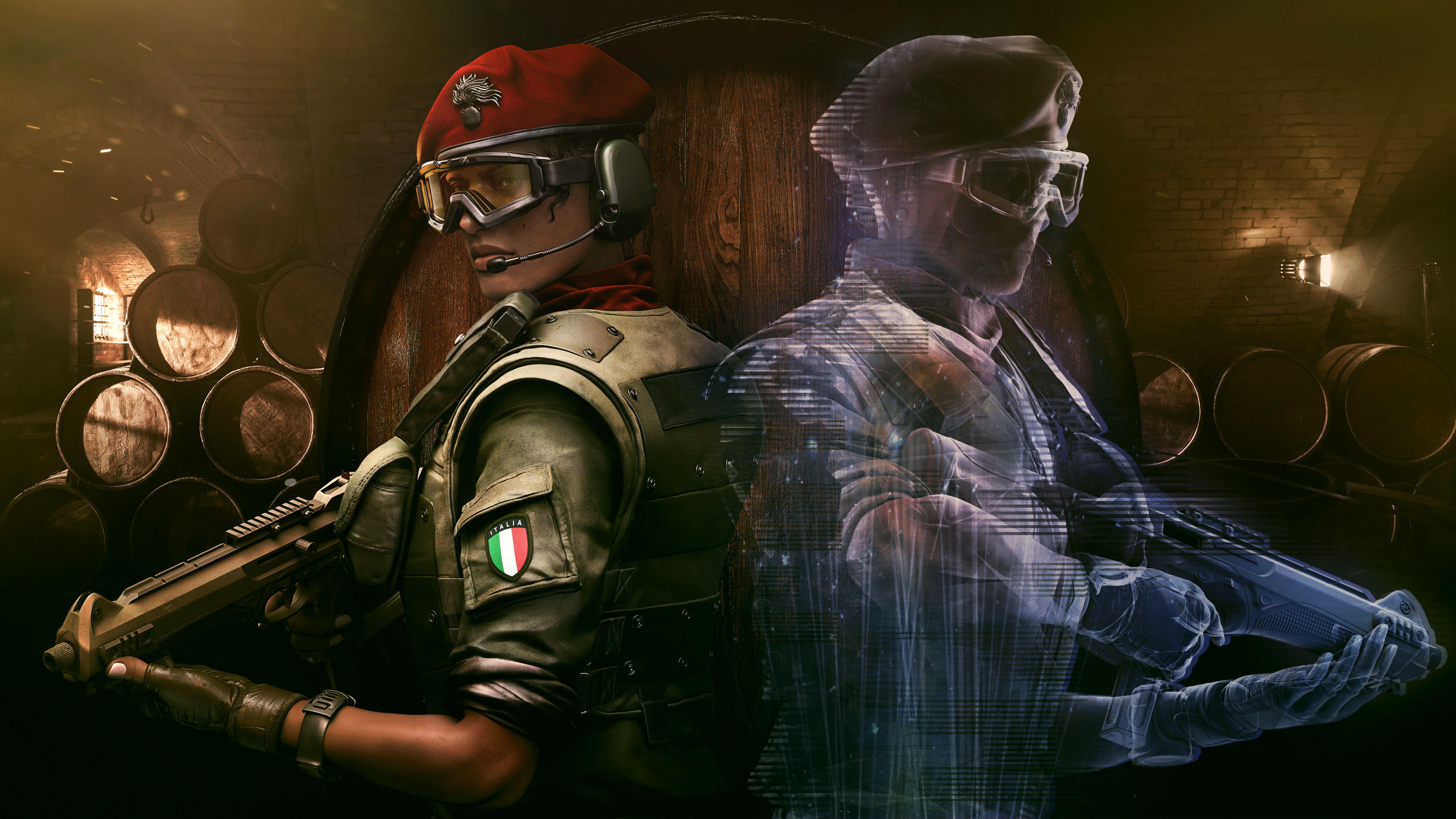 Alibi In Tom Clancys Rainbow Six Siege 4k 8k Rainbow Six Siege Operators Wallpapers Rainbow Wallpaper 4k