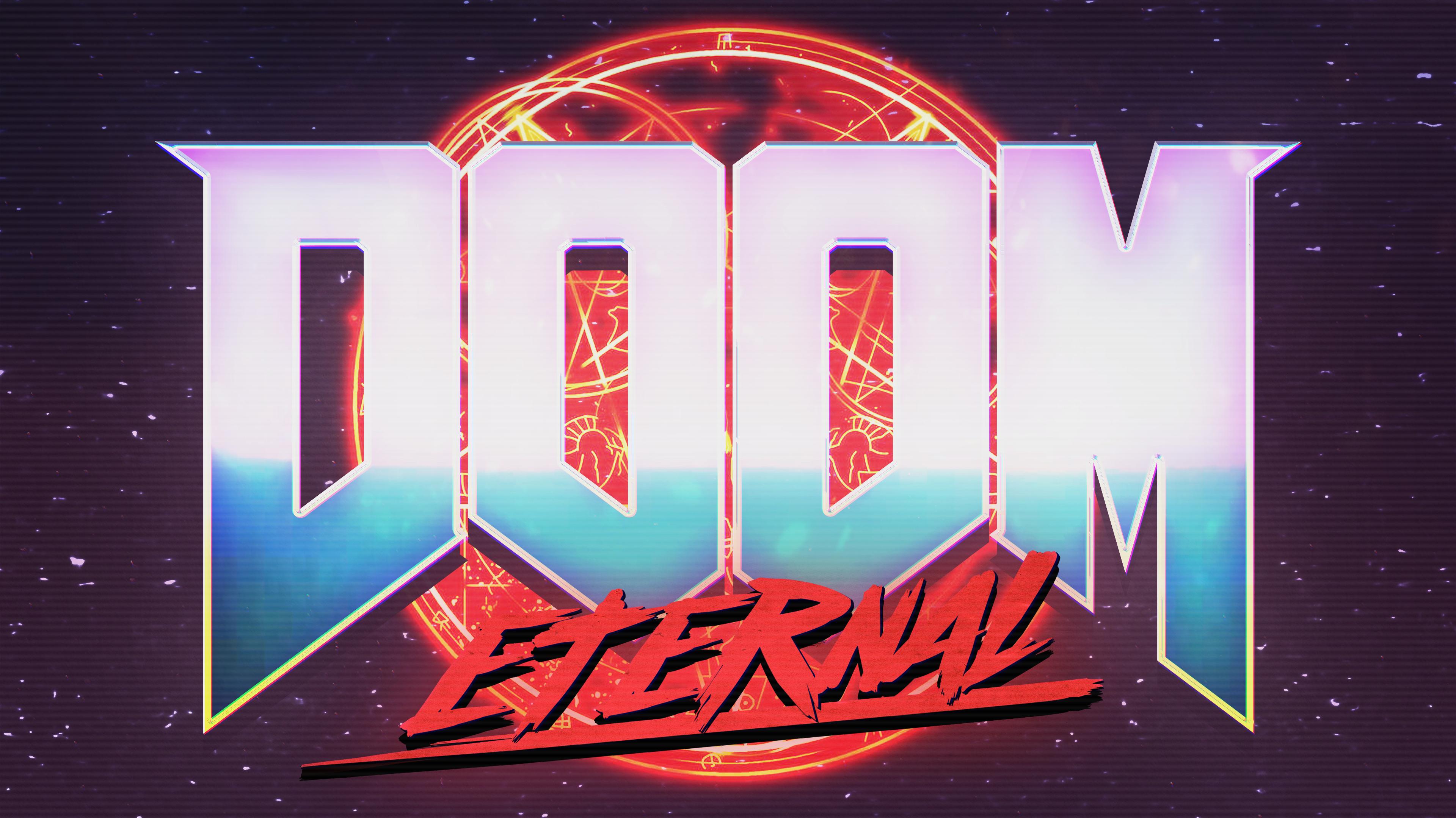 Doom Eternal 3840x2160 Doom R Wallpaper Desktop Background Images