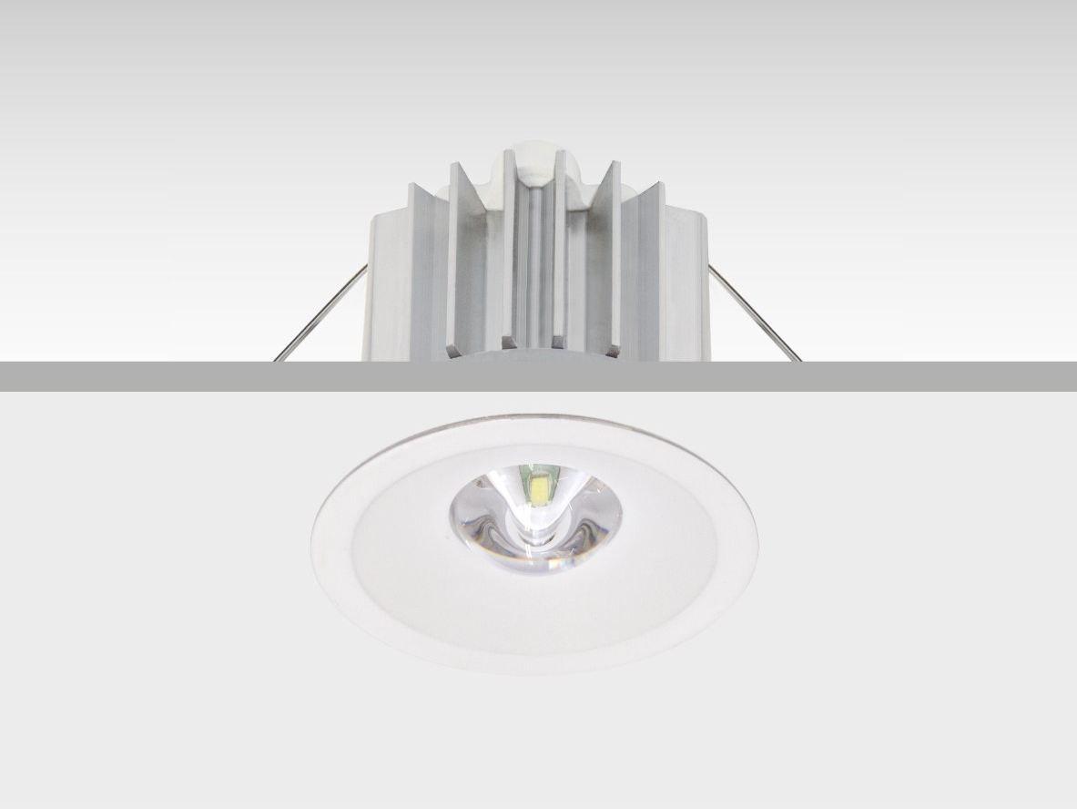 LED ceilingmounted emergency light IZAR DAISALUX Aki Lighting