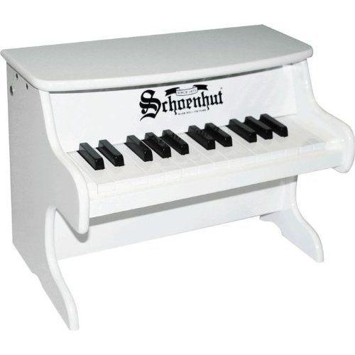 Amazon.com: Schoenhut My First Piano II White: $54.00 + free shipping