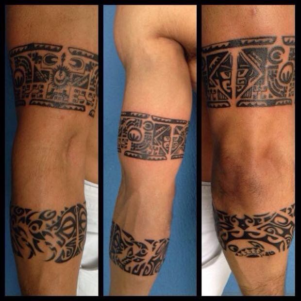 Maori, Tatoo And Tattoo