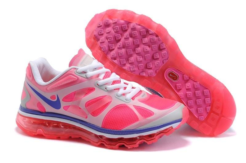 blue pink white nike air max 2012