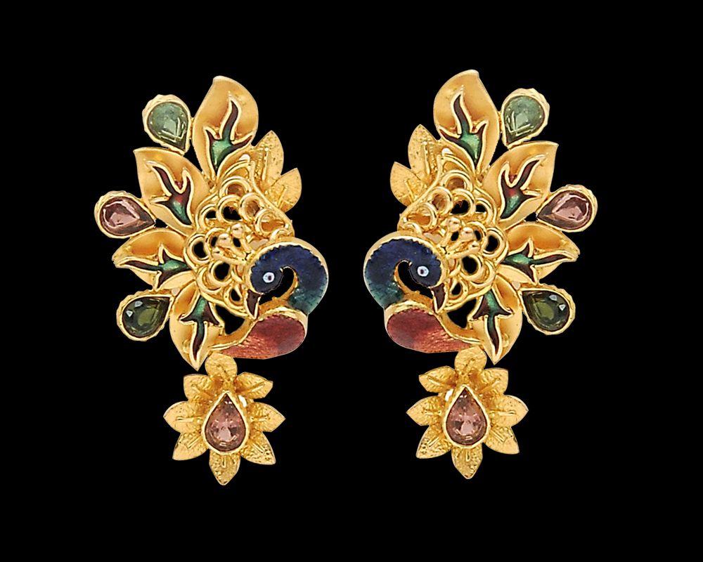 Gold Jewelry Earring Beautiful latest design 2015 (5) - | Girls ...