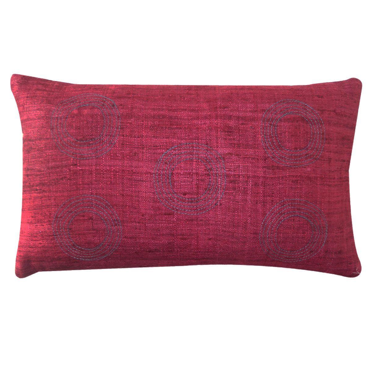 Red Sofa Pillows Euro Bed Costco Matka Center Decorative Throw Pillow Overstock